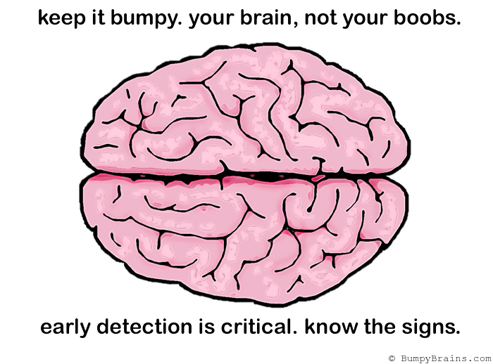 Bumpy Brains Observes Breast Cancer Awareness Month